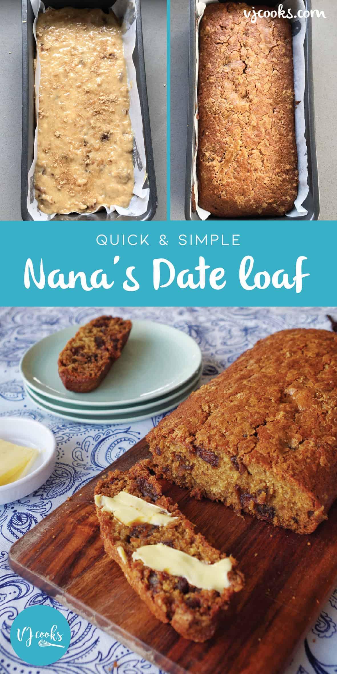 Nana's Date Loaf