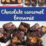 Chocolate caramel brownie by VJ cooks