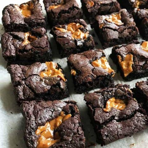 Chocolate Caramel Brownie