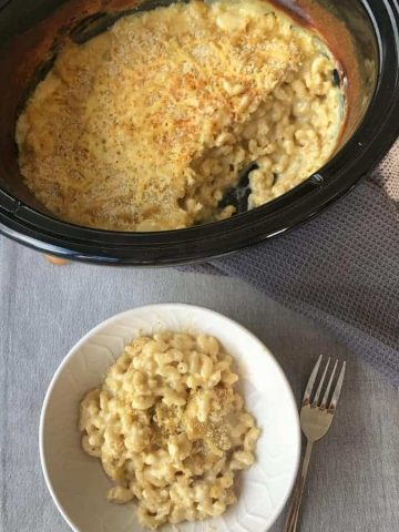 VJ COOKS slow cooker mac and cheese