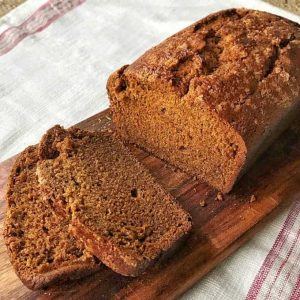 Simple Gingerbread Loaf from VJ cooks