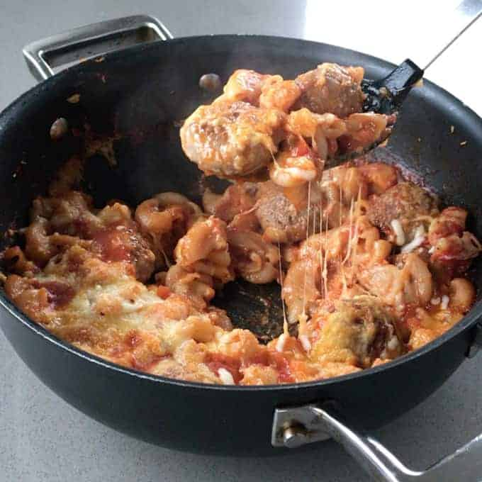 Easy baked meatballs easy one-pot recipe by VJ cooks