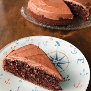 Easy chocolate banana cake by vj cooks