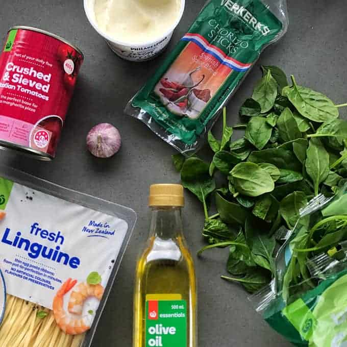 Chorizo pasta easy recipe by VJ cooks