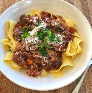 VJ cooks slow cooker beef ragu - easy recipe from VJ cooks