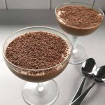 Simple chocolate mousse