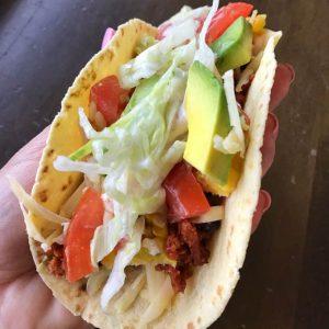 Vegetarian burrito bowl