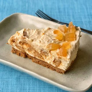ginger kisses cheesecake