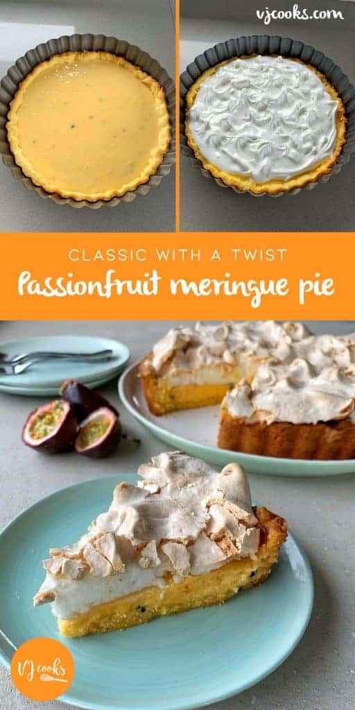 vj cooks passionfruit meringue pie