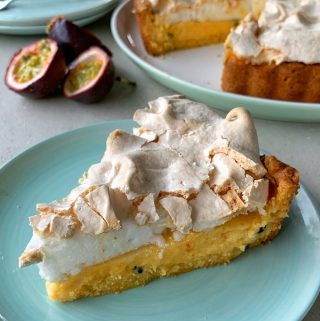passionfruit meringue pie