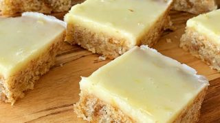 Lemon weetbix slice