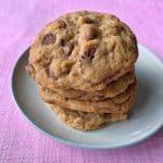 Oaty pecan cookies
