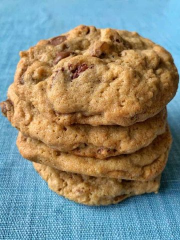 vj cooks chocolate chip and pecan cookies