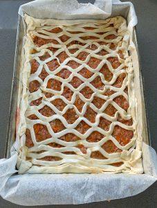 vj cooks sausage picnic pie