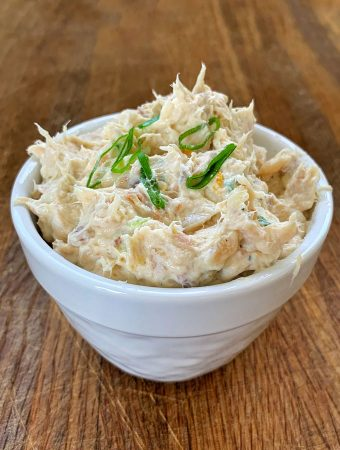 smoked trout dip easy recipe from vj cooks