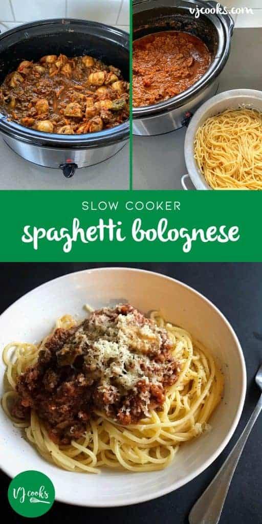 vj cooks slow cooker bolognese sauce