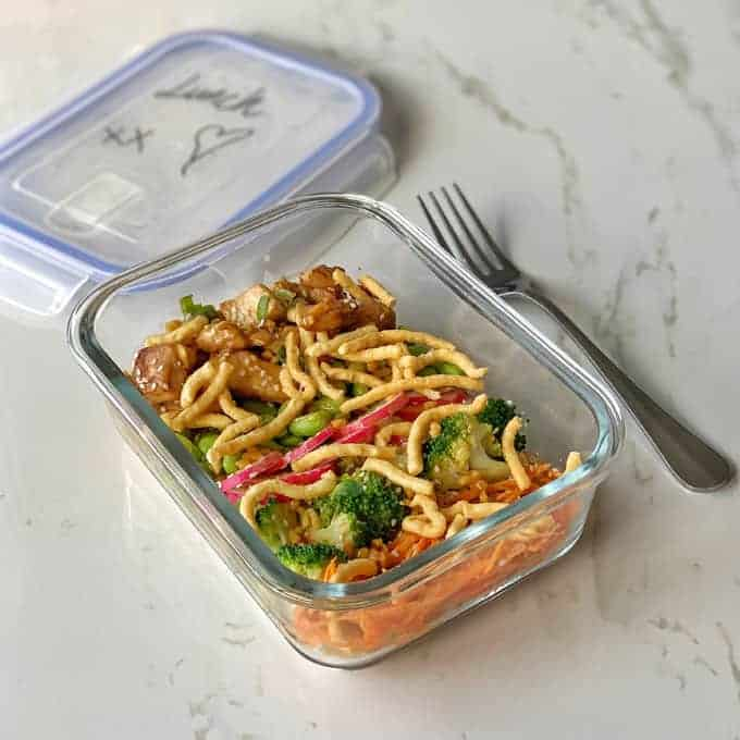 chicken buddha bowl with satay sauce from vj cooks Lunch meal prep