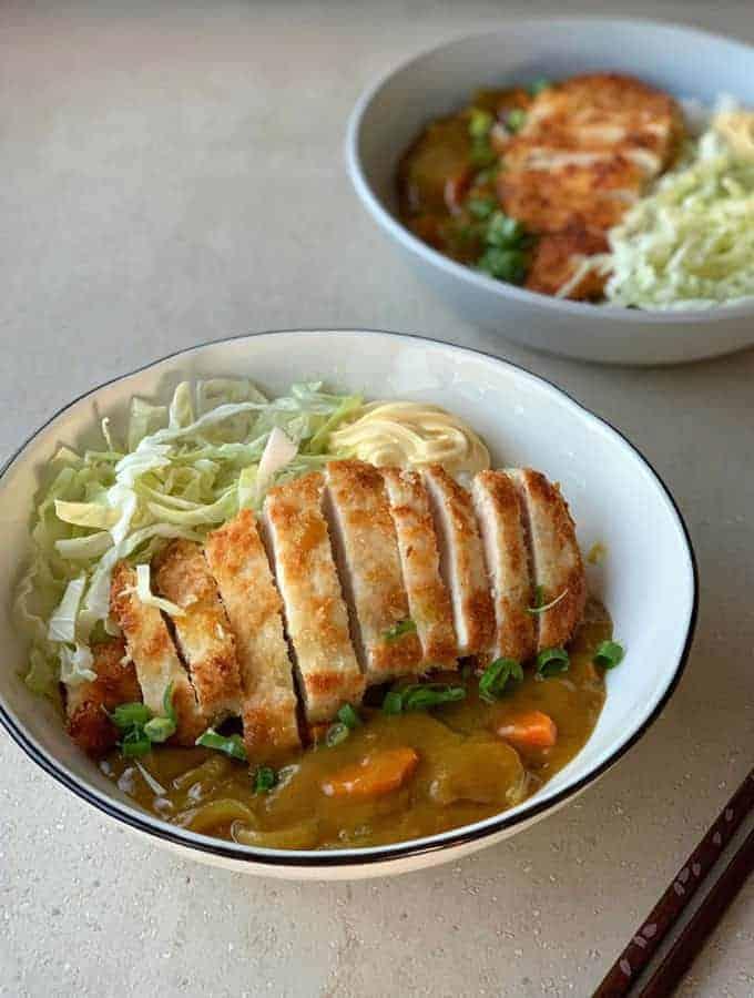 vj cooks japanese chicken katsu curry