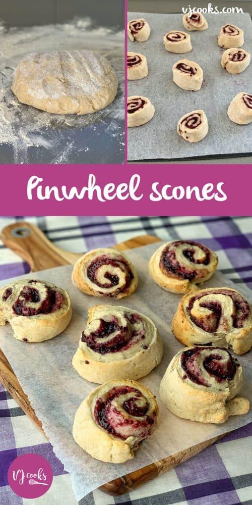 vj cooks jam pinwheel scones