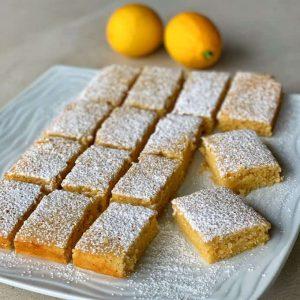 vj cooks lemon blondie
