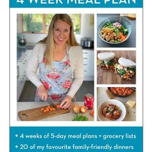 VJ cooks 4 week meal plan