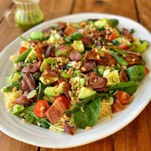 vj cooks salad