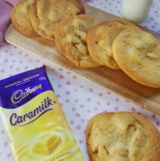 vj cooks caramilk cookies