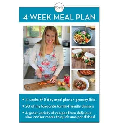 meal plan cover vj cooks
