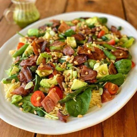 Asparagus and Bacon Spring Salad