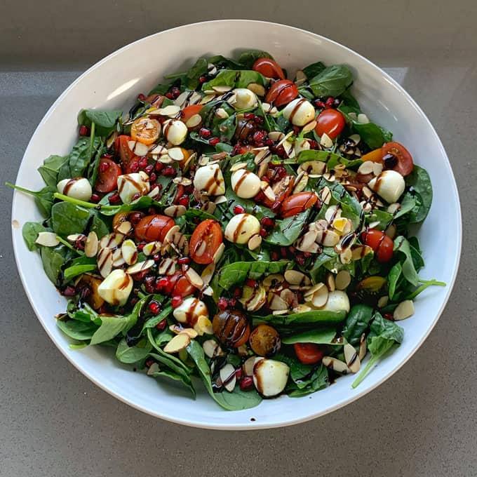 Green Christmas salad