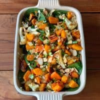 Roast vegetable & couscous salad