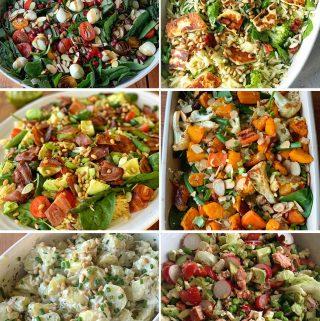 vj cooks salads