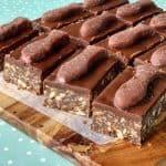 chocolate fish slice