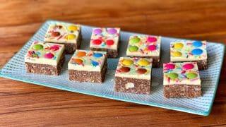 No-bake Rainbow Slice