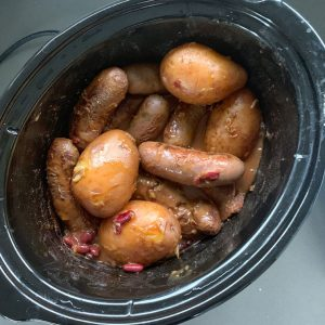 smokey sausage casserole