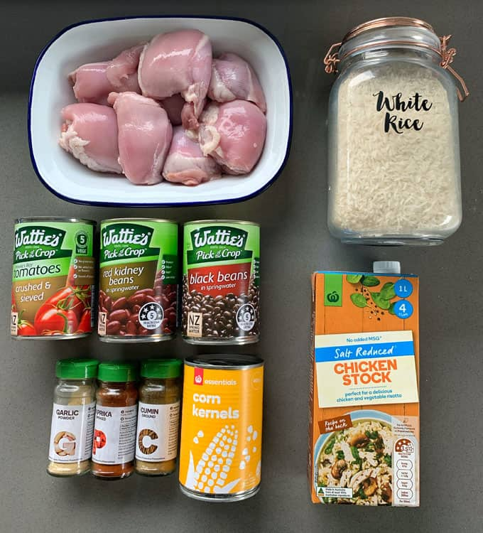 multi cooker mexican chicken and rice