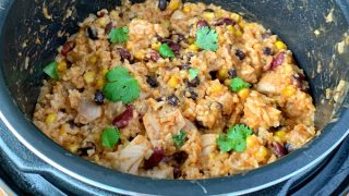 Multi-cooker Mexican Chicken and rice