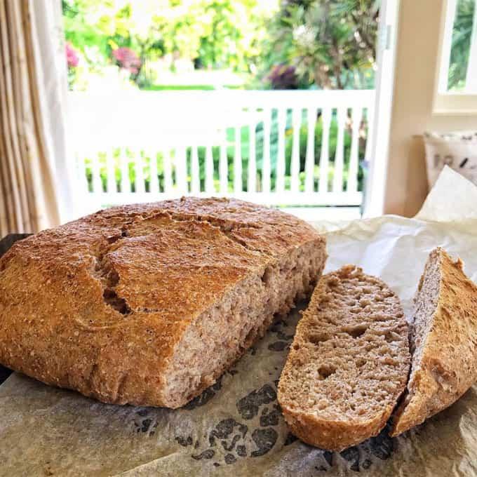 VJ cooks no knead loaf