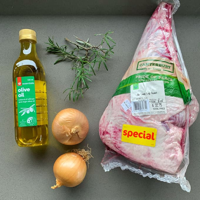 roast lamb and onion gravy ingredients