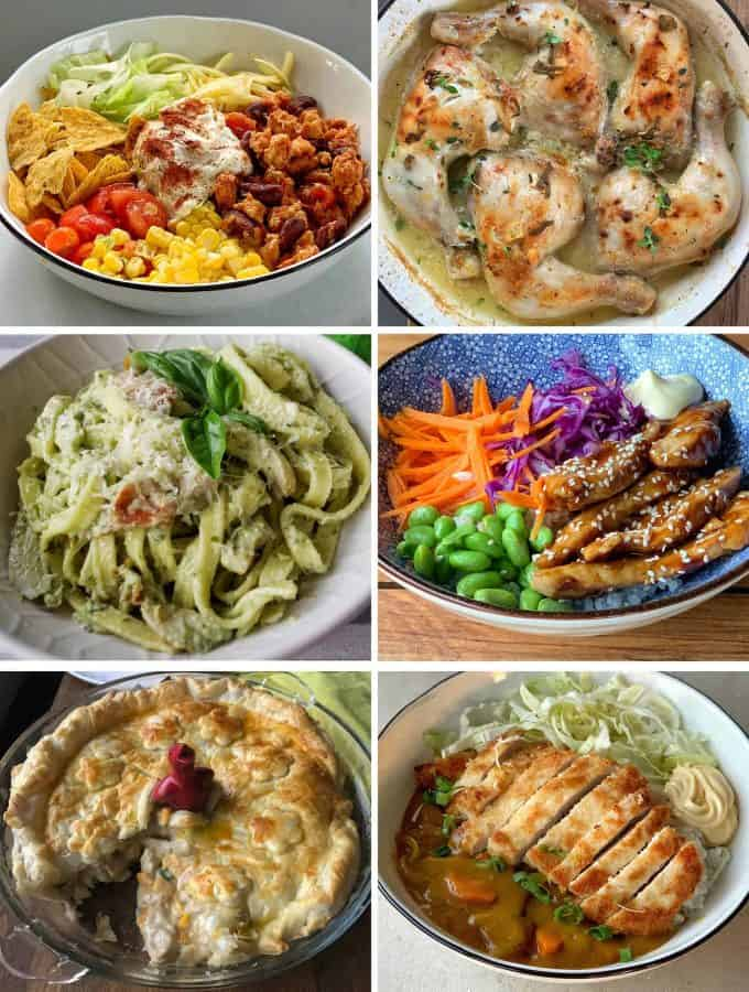 Vj cooks chicken dinners