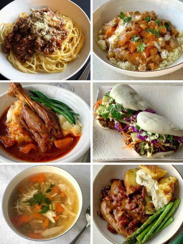 VJ Cooks slow cooker meals