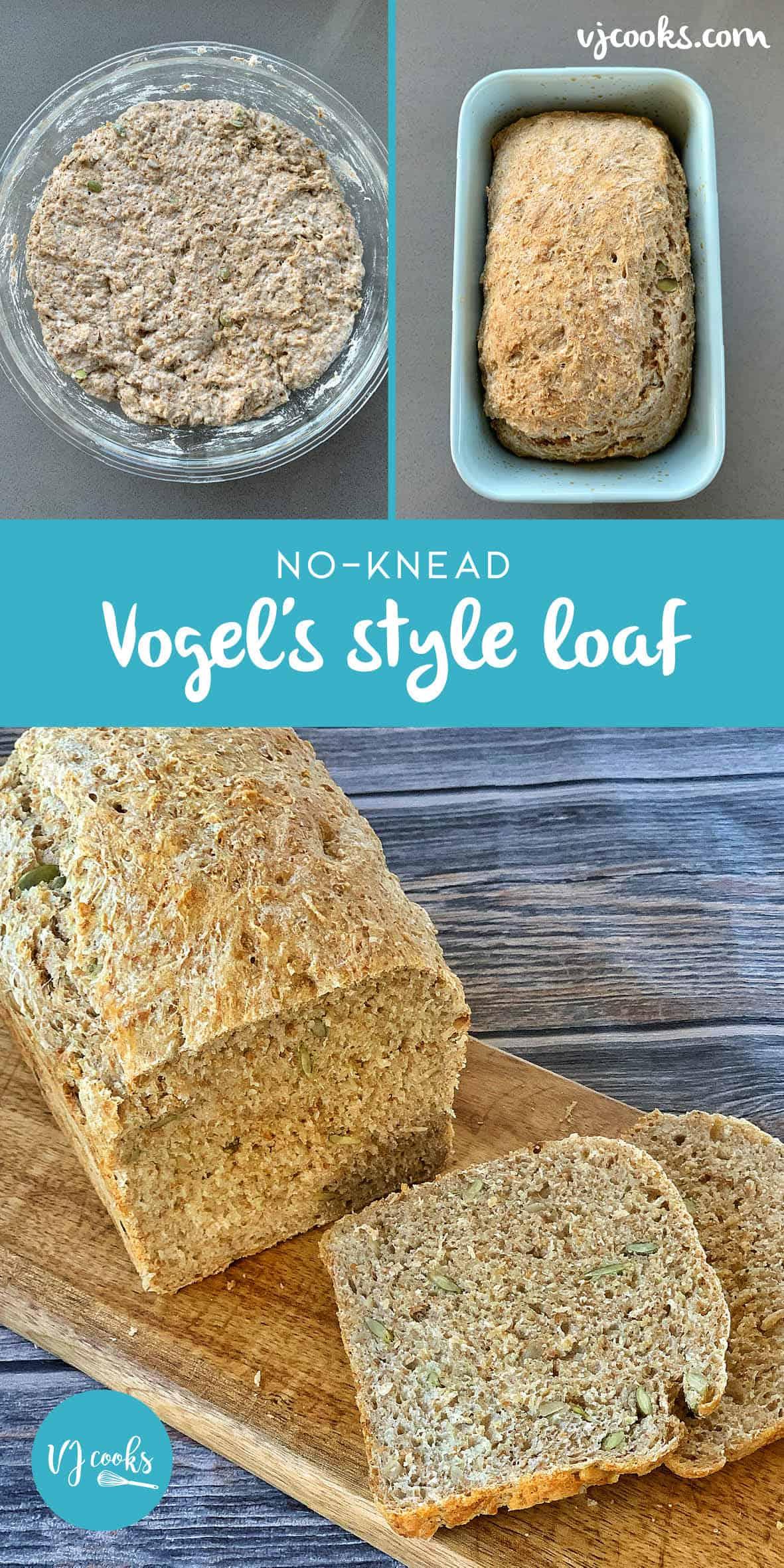 no knead vogels loaf