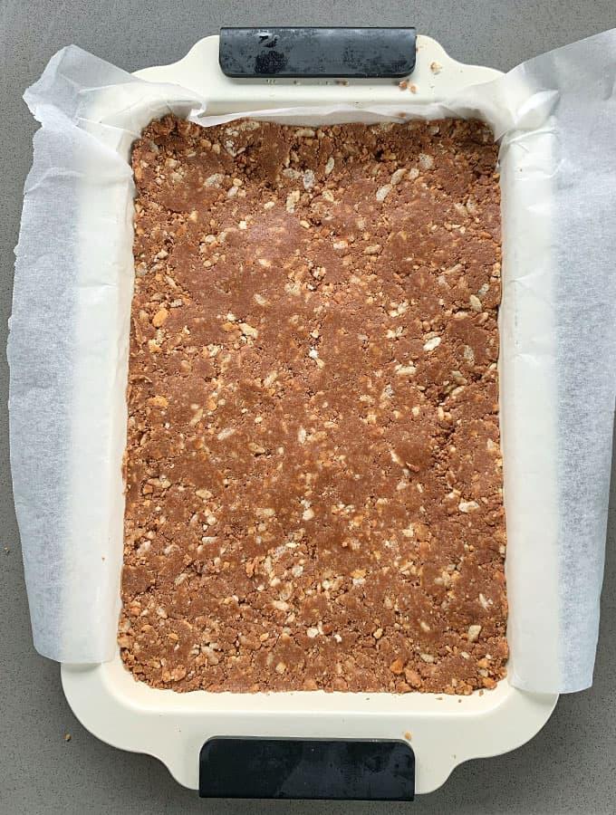 No-bake Milk Chocolate Slice
