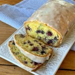 lemon and blueberry loaf