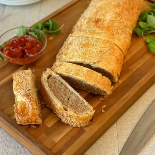 Giant Pork sausage roll