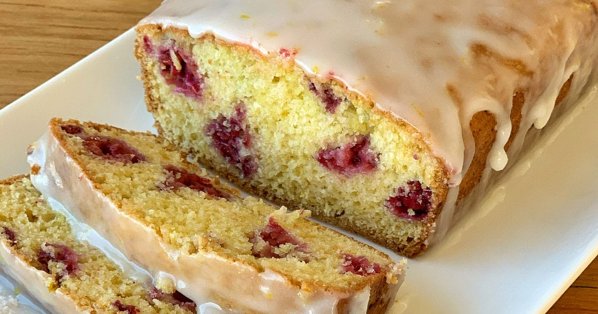 lemon and raspberry loaf
