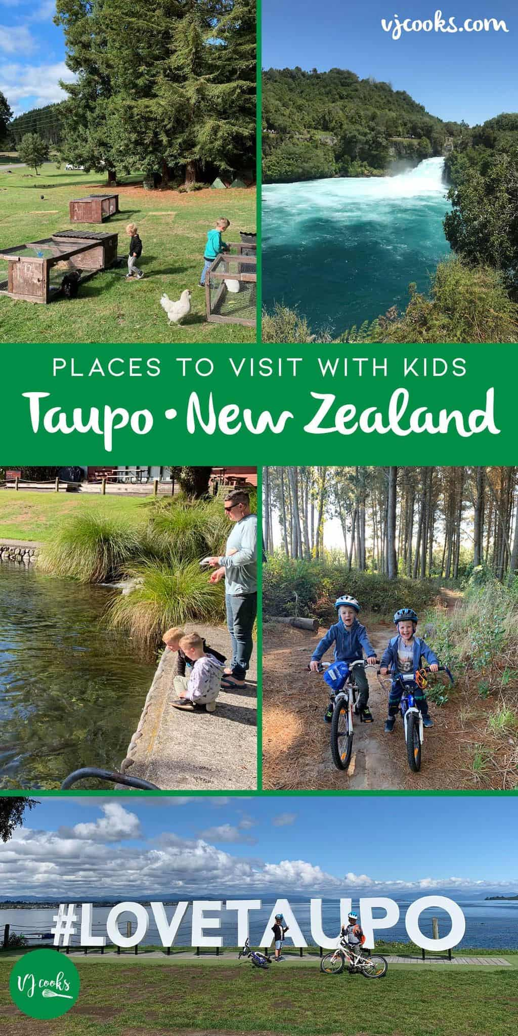 Taupo activities - Places to visit with kids - New zealand - free
