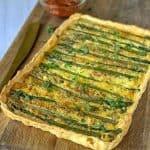Asparagus and Feta Tart