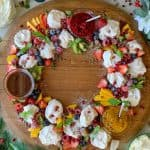 Christmas Mini Pavlova Wreath