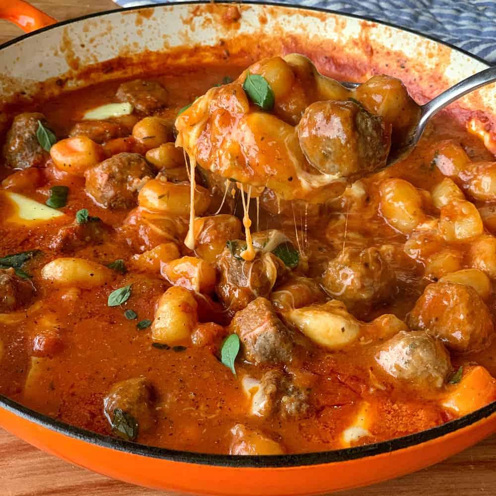 Meatball Gnocchi